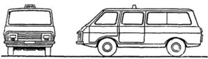 маршрутное такси Шашки такси ГОСТ 25869-90