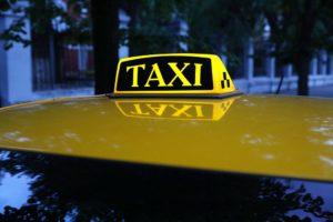 Шашка такси с подсветкой