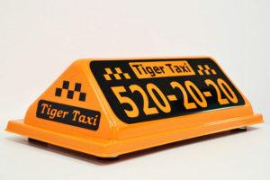 Шашка такси Тайгер