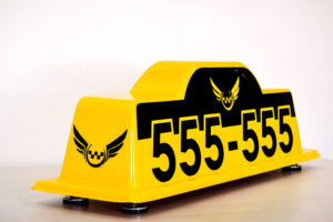 Шашка такси Волк2